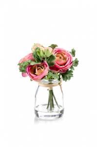 Bilde av Ranunculus Rosa i Glass 15cm